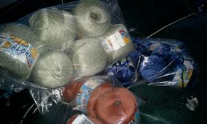 Yarn from Italy - blue, brown, and light green for Sale in Winchester, VA