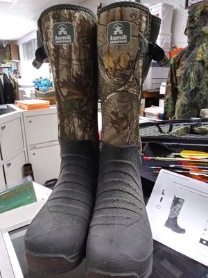 Trailman kamik hunting boots for Sale in Saint Petersburg, FL