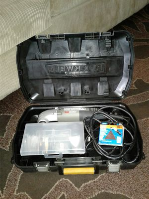 RK5107K - Rockwell SoniCrafter high frequency Oscillating tool kit with case. New $80 for Sale in Everett, WA