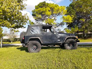1999 Jeep Wrangler Sport 4x4 for Sale in New Port Richey, FL