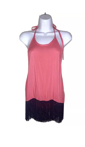 Women's pink fringe blouse shirt for Sale in St. Petersburg, FL