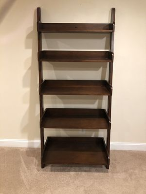 Pottery Barn ladder shelf - brown for Sale in Evesham Township, NJ