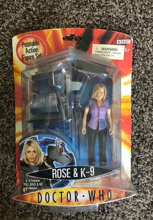 2004 Doctor Who Action Figure Collectible for Sale in Salt Lake City, UT