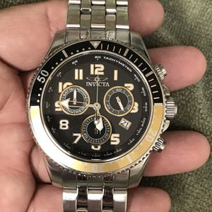 Very Beautiful Invicta Chronograph Watch Was $200 Now $100 Firm for Sale in Las Vegas, NV