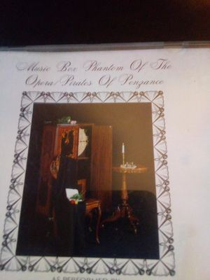 Music box phantom of the Opera/pirates of Penzance for Sale in Ontario, CA