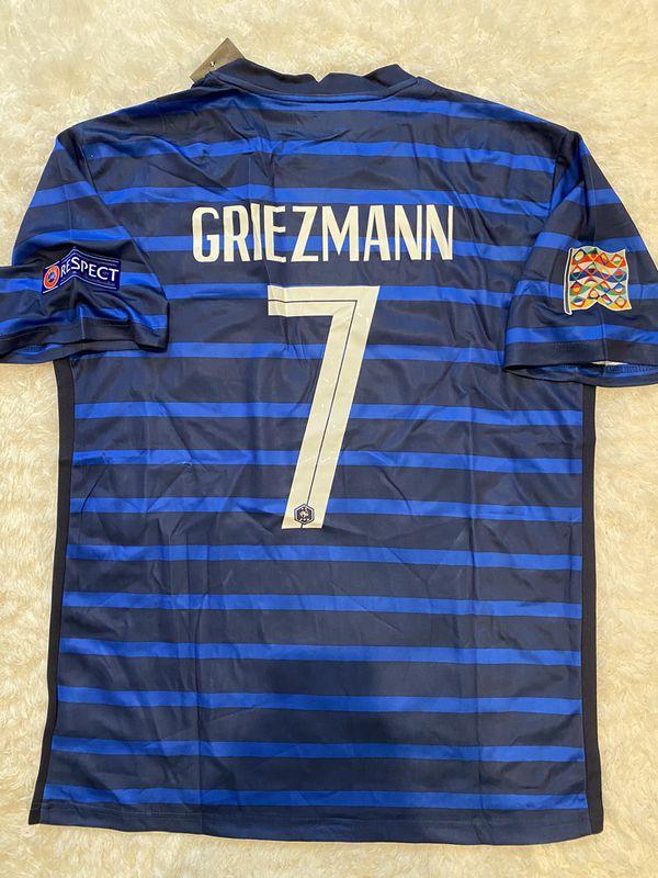 20-21 France Griezmann home Jersey L