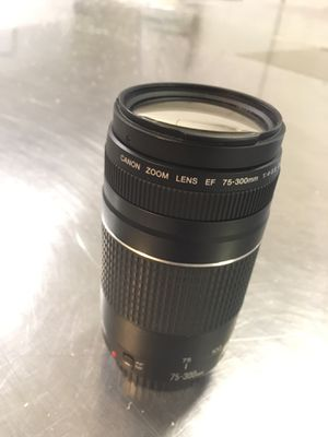 Canon Telephoto Zoom Lense for Sale in Newark, CA