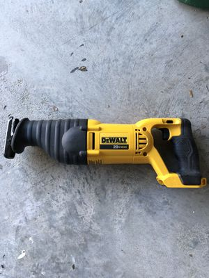 DeWalt Reciprocating Saw and 20v Battery and charger for Sale in Houston, TX