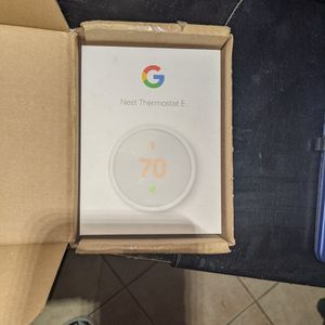 Google Nest Thermostat E for Sale in Los Angeles, CA