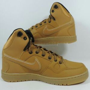 Nike Son of Force Mid Mens Shoes Wheat Waterproof for Sale in Aurora, IL