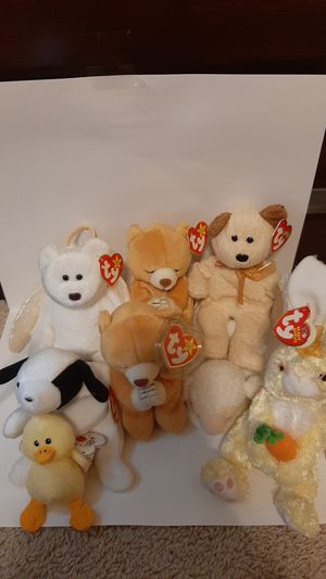 Beanie baby rare 90's lot for Sale in Richardson, TX