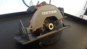 CRAFTSMAN V20 20-Volt Max 6-1/2-in Cordless Circular Saw with Brake and Metal Shoe (Bare Tool Only) for Sale in Greenacres, FL