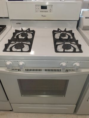Whirlpool stove gas good condition 90 days warranty for Sale in Mount Rainier, MD