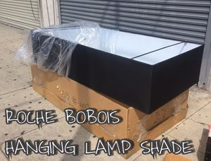 Roche Bobois Black Hanging/Ceiling Lamp/Light Shade for Sale in Los Angeles, CA