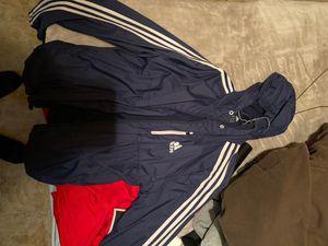 Men's Blue adidas windbreak sz M for Sale in Mundelein, IL