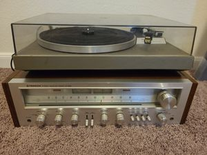Antique Pioneer audio receiver w/ Technics turntable for Sale in Katy, TX