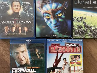 Lot of 3 Blu-ray Movies for Sale in Milpitas,  CA