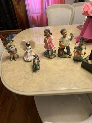 Assortment of figurines + waterfall for Sale in Harrisburg, PA