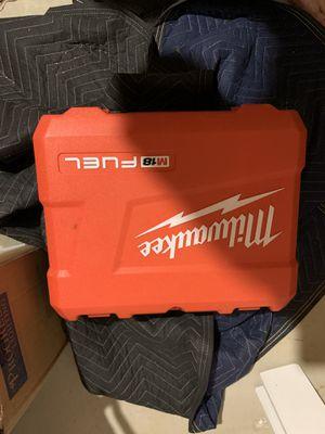 Milwaukee Fuel M18 Hammer Drill Case for Sale in Gainesville, VA