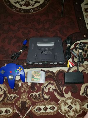Nintendo 64 /mario 64 for Sale in Las Vegas, NV