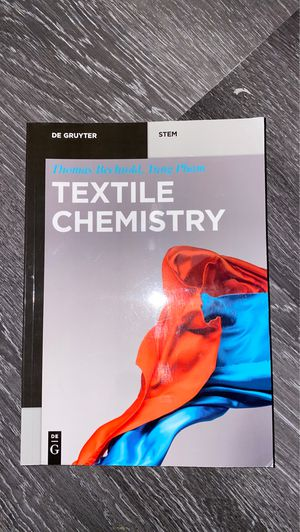 Book textile chemistry for Sale in Los Angeles, CA