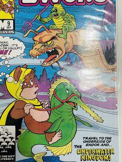 Star Comics Marvel Ewoks #9 Near Mint Comics Book 1986 The Underwater Kingdom for Sale in Waco,  TX