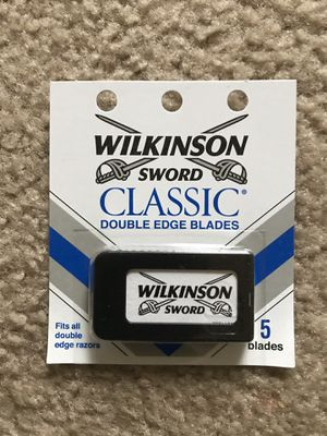 Wilkinson's razor 300 count ( 60 packs of 5 blades) for Sale in Nashville, TN