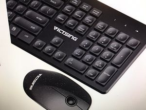 VicTsing wireless keyboard and mouse for Sale in Nashville, TN