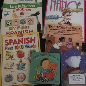 Eleven juvenile Spanish English books for Sale in Glendale, CA