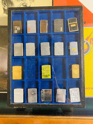 Vintage Zippo lighters ultra rare collection with case ! for Sale in Nashville, TN