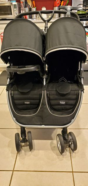 Britax be agile double stroller $90 obo for Sale in Riverside, CA