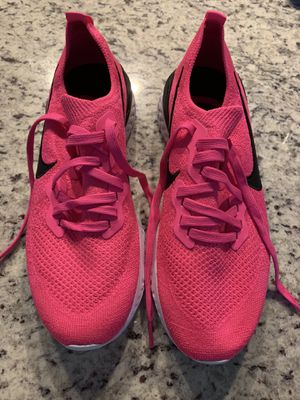 Nike hot pink size 10 women's running shoe for Sale in Frisco, TX