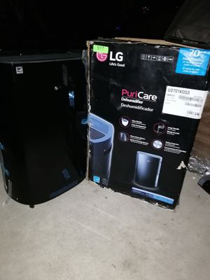 Brand New In Box LG PuriCare 70 Pint Dehumidifier UD701KOG3 for Sale in undefined
