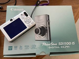 Canon digital camera powershot sd1100 is for Sale in Redding, CT
