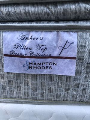 Hampton Rhodes Mattress !! Tremendous Shape!!! for Sale in Raleigh, NC