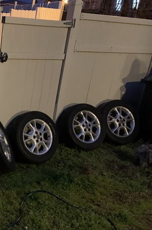 Toyota Sienna tire and rims 125$ all four took them off my van got new rims GREAT PRICE!!! for Sale in Washington, DC