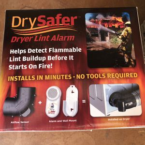 Dryer Lint Alarm for Sale in Silverado, CA
