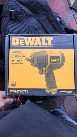 "Dewalt 1/2"" Pneumatic Impact Wrench. $150 OBO for Sale in Aberdeen, WA"