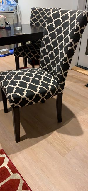4 chairs for sale for Sale in Arlington, VA