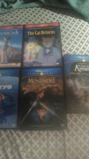 Studio Ghibli movies anime movies DVDS for Sale in Glen Burnie, MD