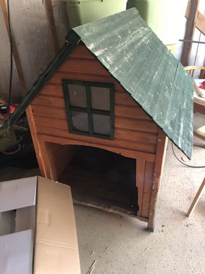 Dog house with heater for Sale in Dearborn, MI