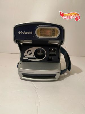 VINTAGE Polaroid P600 Silver Blue Instant Film Camera TESTED WORKING Rare 📸 for Sale in New Haven, CT