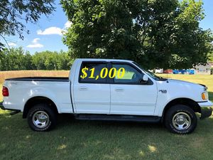 🔑💲1,OOO For sale URGENT 🔑2OO2 Ford F-15O Super Crew Cab 4-Door Runs and drives very smooth Clean Title Excellent condition🔑🔑🔑 for Sale in Oakland, CA