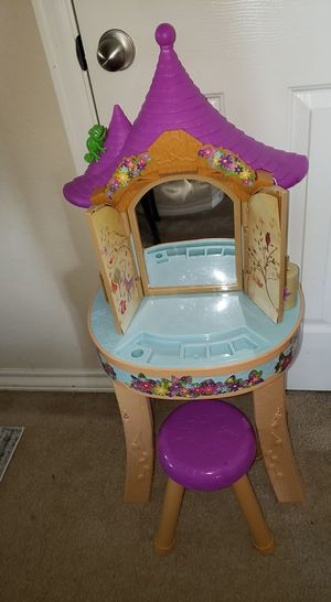Disney Princess Rapunzel Play Vanity for Sale in Pflugerville, TX