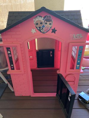 LOL Doll House (playhouse) with toy bonus for Sale in Chula Vista, CA