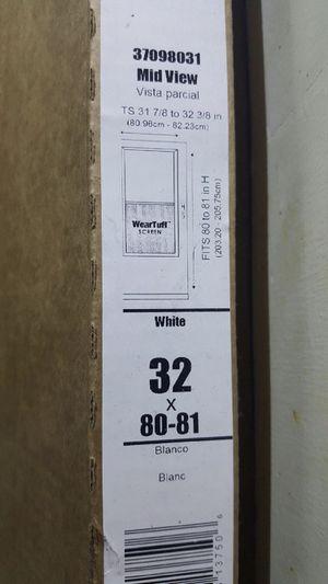 Screen door , lasco, 32x80-81 for Sale in Ossian, IN