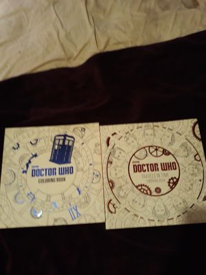 Dr Who adult coloring books for Sale in Milton, FL