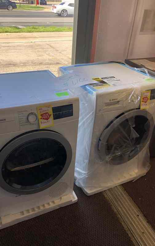 Bosch Washer AND Dryer ⚡️🙈⏰🍂🔥😀⚡️🙈⏰🍂✔️🔥😀⚡️🙈⏰🍂🍂✔️🔥 Appliance Liquidation!!!!!!!!!!!! 0D