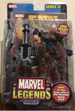 Cable Brown outfit Series VI Marvel Legends Collectible Action Figure for Sale in Thonotosassa, FL