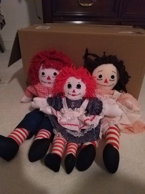 Raggedy Ann and Andy for Sale in Falls Church, VA